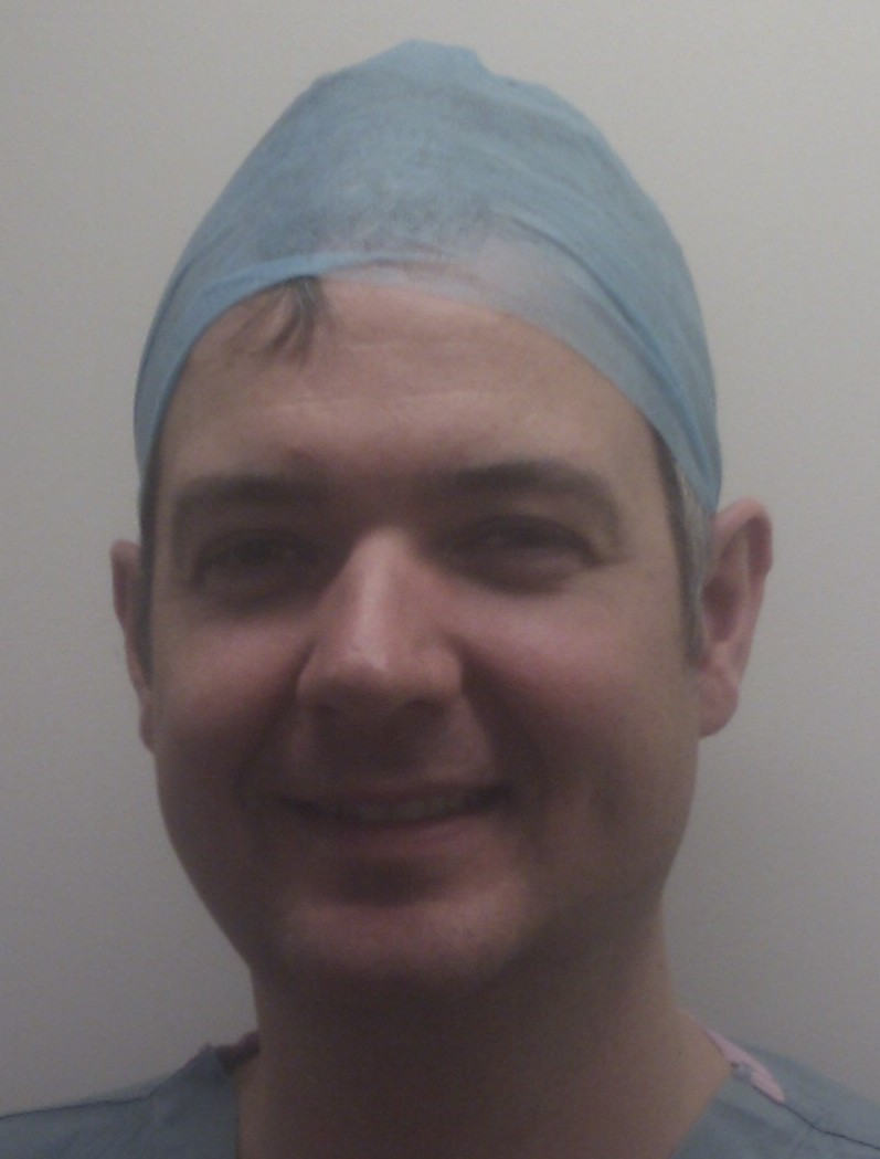 James Webb, consultant orthopaedic surgeon with a special interest in lower limb arthroplasty. James Cook University Hospital, Middlesbrough, UK. - IMAG0302-e1323702183117